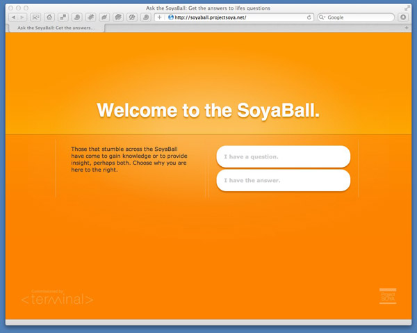 Soya Ball, WRMC Collaborative, Terminal
