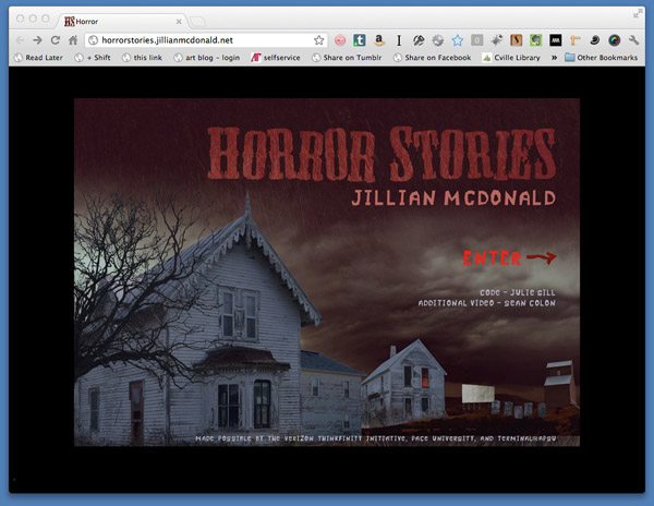Horror Stories by Jillian Mcdonald - Terminal