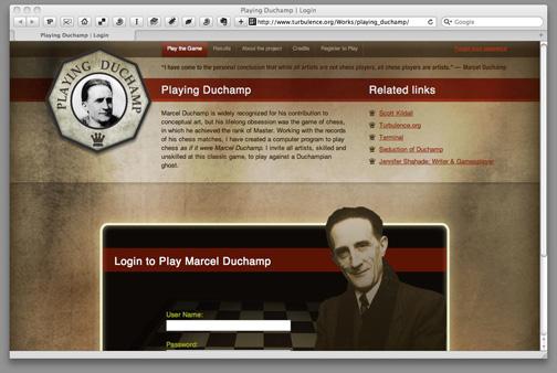 Scott Killdall - Playing Duchamp - Terminal Award