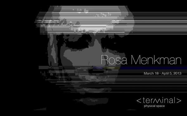 Rosa Menkman Terminal